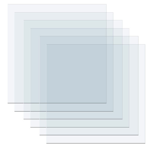 We R Memory Keepers Mold Press Clear Plastic Sheets 40/Pkg
