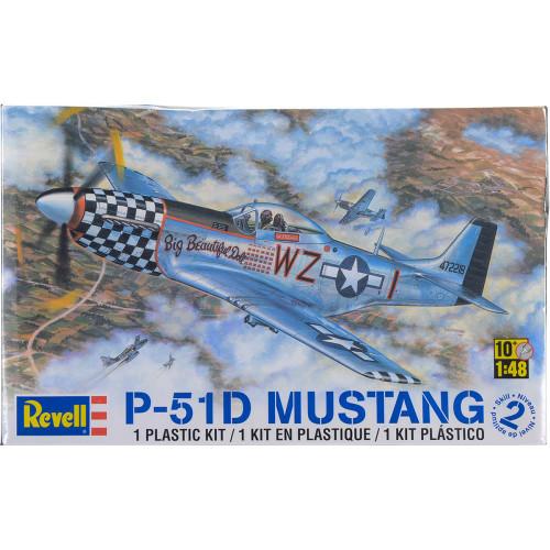 Revell Plastic Model Kit - P-51D Mustang 1:48