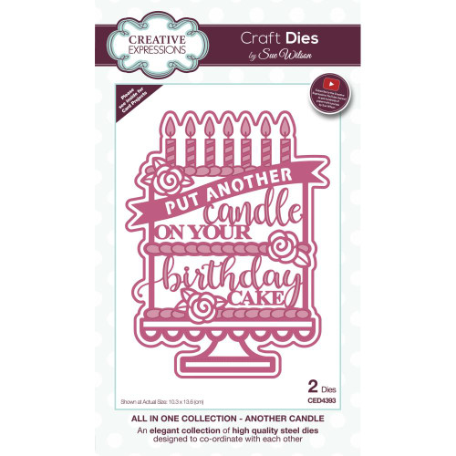 Creative Expressions All In One Craft Dies - Another Candle