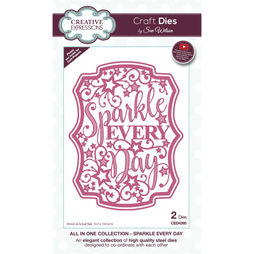 Creative Expressions All In One Craft Dies - Sparkle Every Day