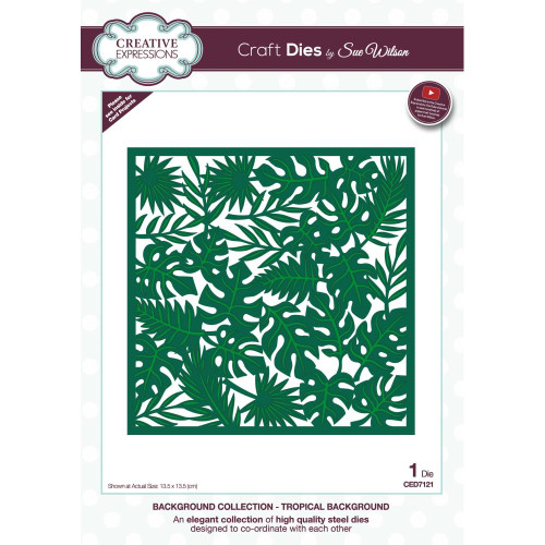 Creative Expressions Background Craft Dies - Tropical