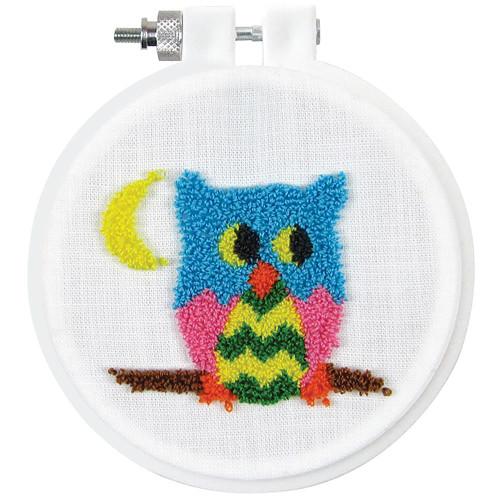 Design Works Punch Needle Kit - Owl