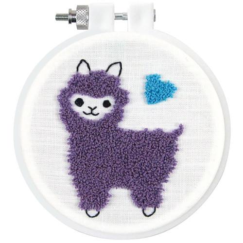 Design Works Punch Needle Kit - Llama
