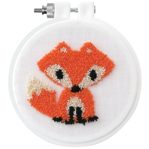 Design Works Punch Needle Kit - Fox
