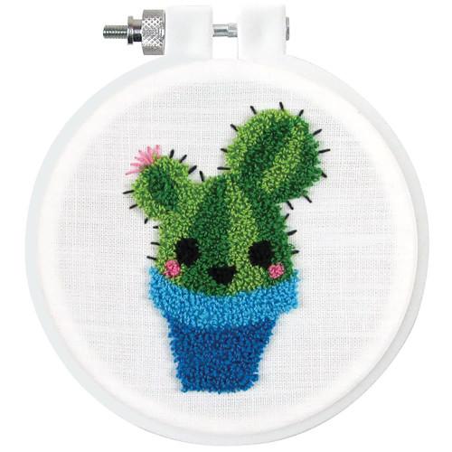 Design Works Punch Needle Kit - Cactus