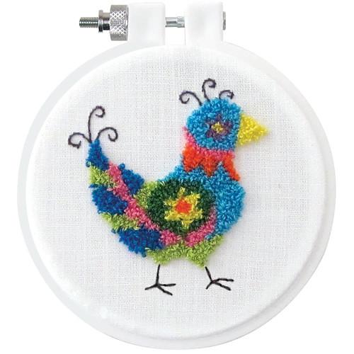 Design Works Punch Needle Kit - Bird