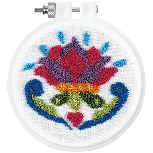 Design Works Punch Needle Kit - Flower