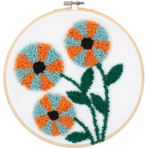 Dimensions Punch Needle Kit - Modern Floral