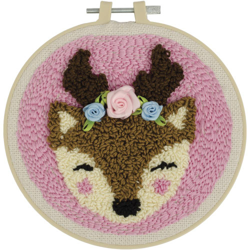 Fabric Editions Needle Creations Needle Punch Kit - Deer