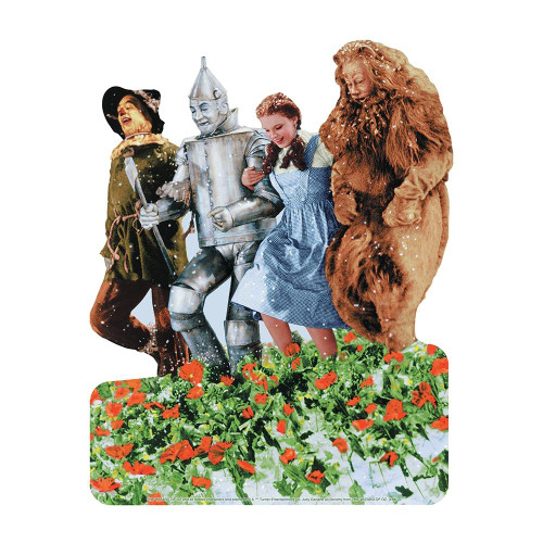 Playhouse Mini Puzzle 26 Pc. - Wizard Of Oz Poppy Fields