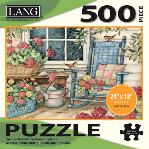 Lang Jigsaw Puzzle 500 Pc. - Rocking Chair