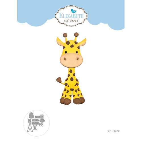 Elizabeth Craft Metal Die - Giraffe