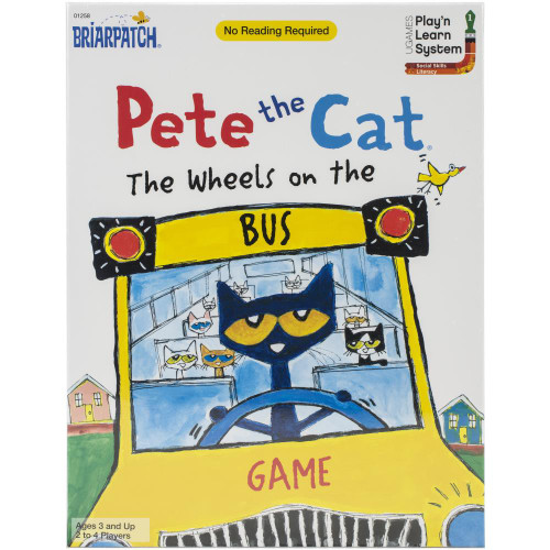 University Games Pete The Cat Wheels On The Bus Game