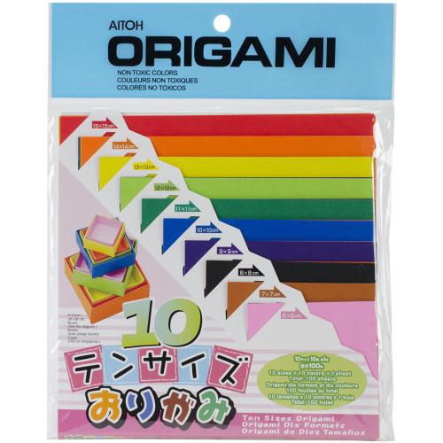 Aitoh Origami Paper 100/Pkg
