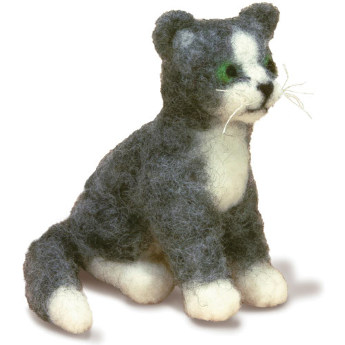 Dimensions Feltworks Needle Felting Kit - Cat