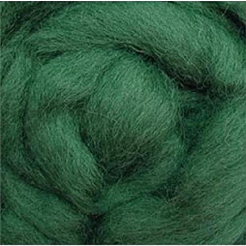 """Wistyria Editions Wool Roving 12"""" .22oz - Moss"""