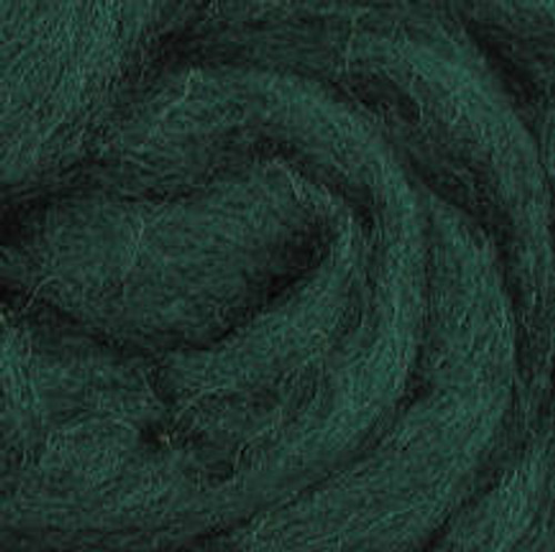 "Wistyria Editions Wool Roving 12"" .22oz - Fir"