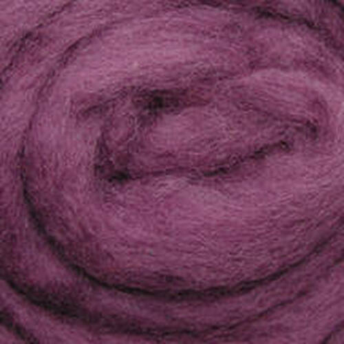 "Wistyria Editions Wool Roving 12"" .22oz - Lilac Haze"