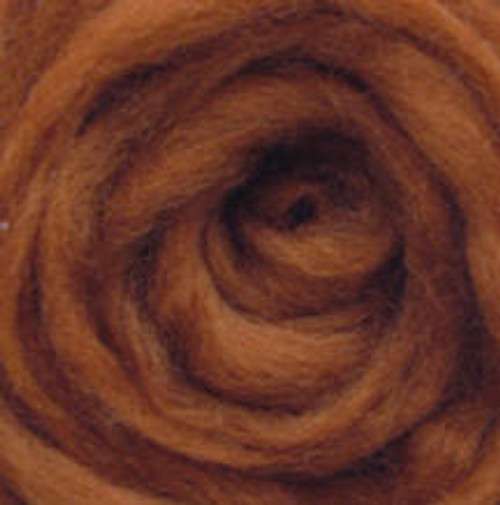 """Wistyria Editions Wool Roving 12"""" .22oz - Toffee"""
