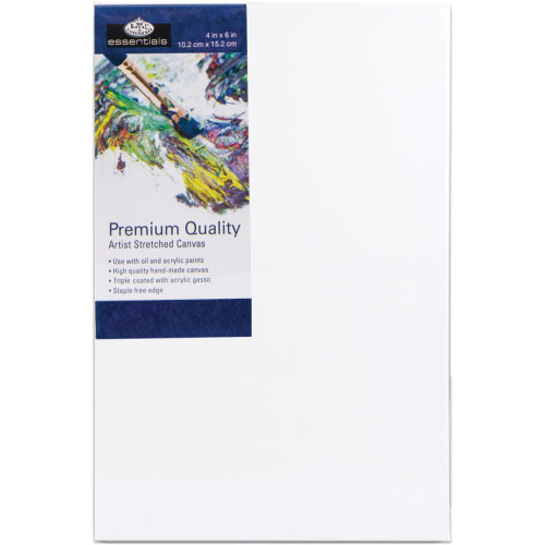 "essentials™ Premium Stretched Canvas - 4""x6"""
