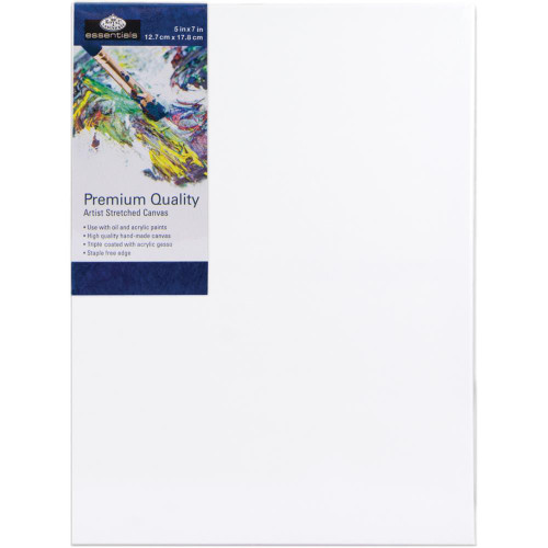 "essentials™ Premium Stretched Canvas - 5""x7"""