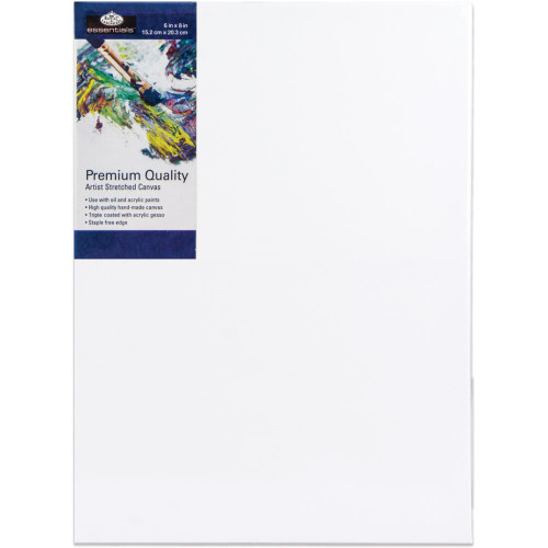 "essentials™ Premium Stretched Canvas - 6""x8"""