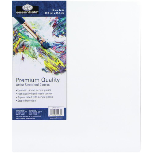 "essentials™ Premium Stretched Canvas - 11""x14"""