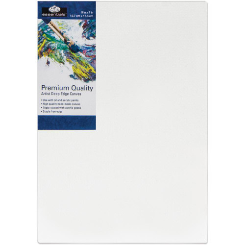 "essentials™ Premium Gallery Style Deep Edge Canvas - 5""x7"""