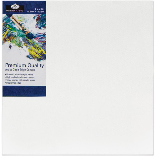 "essentials™ Premium Gallery Style Deep Edge Canvas - 6""x6"""