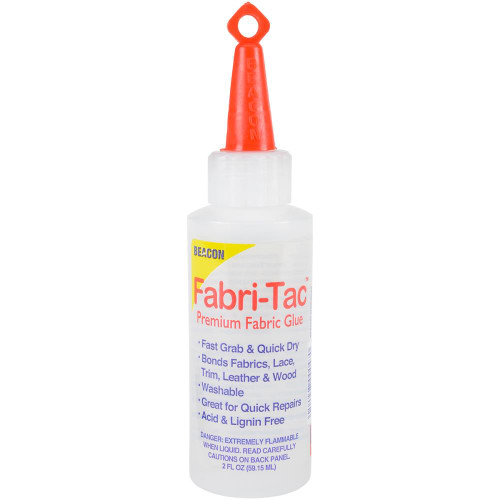 Beacon Fabri-Tac Permanent Adhesive 2oz.