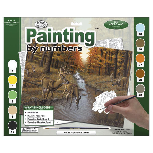 Royal Langnickel Paint By Number Kit - Symond's Creek