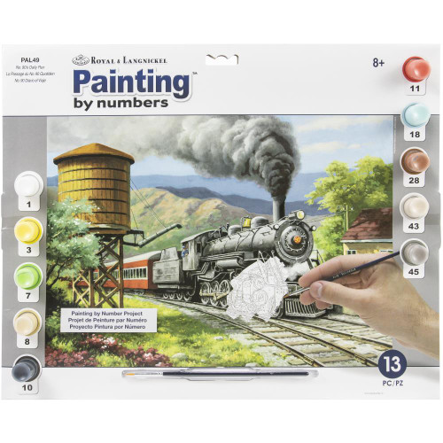 Royal Langnickel Paint By Number Kit - No. 90's Daily Run