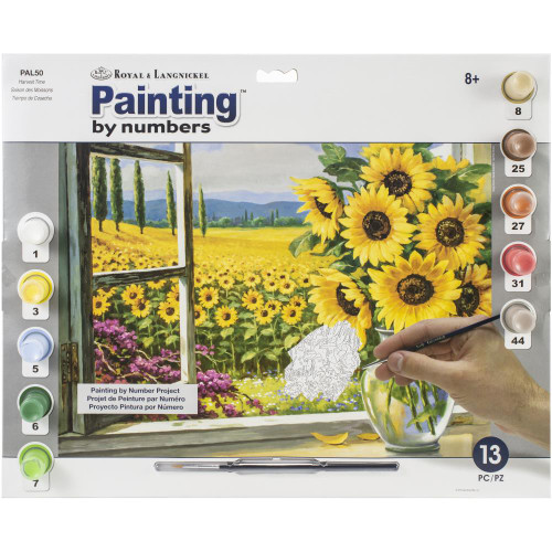 Royal Langnickel Paint By Number Kit - Harvest Time