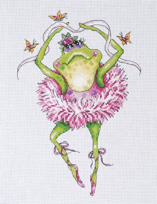 Design Works Counted Cross Stitch Kit - Frog Dancer