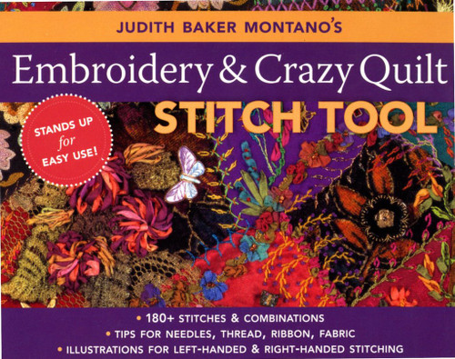 C&T Publishing Embroidery & Crazy Quilt Stitch Tool