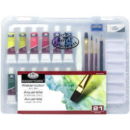 Royal & Langnickel essentials™ Watercolor Art Set 21Pc