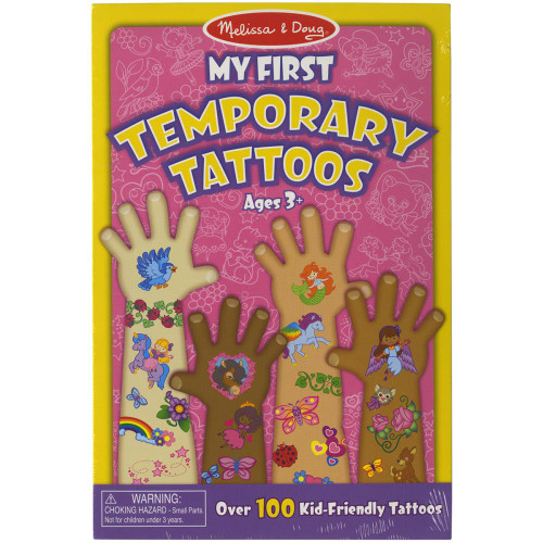 Melissa & Doug My First Temporary Tattoos - Girl