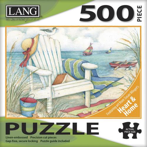 Lang Jigsaw Puzzle 500 Pc. - Just Beachy