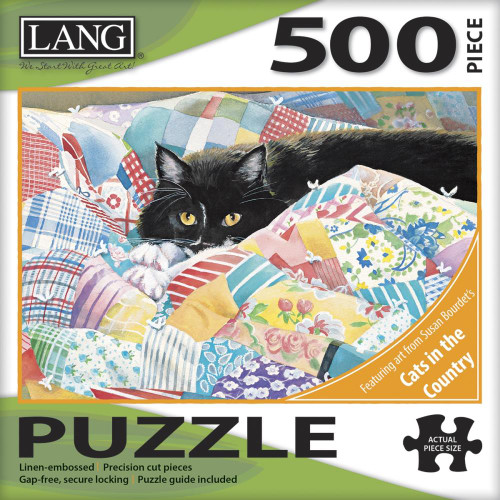 Lang Jigsaw Puzzle 500 Pc. - Grandma's Quilt