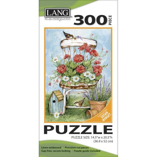 Lang Jigsaw Puzzle 300 Pc. - Geranium Chair