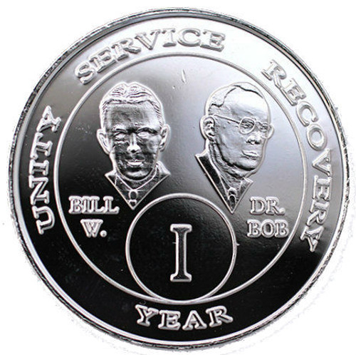 AA Nickle Bill & Bob Year Coin