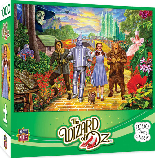 MasterPieces 1000 Pc. Jigsaw Puzzle - Off To See The Wizard