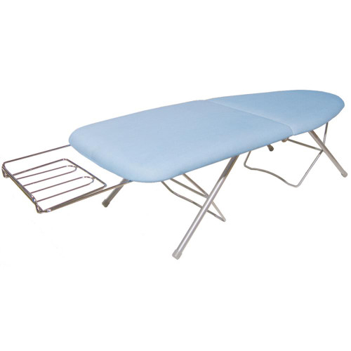 Sullivans Go Board Portable Folding Ironing Board - Blue