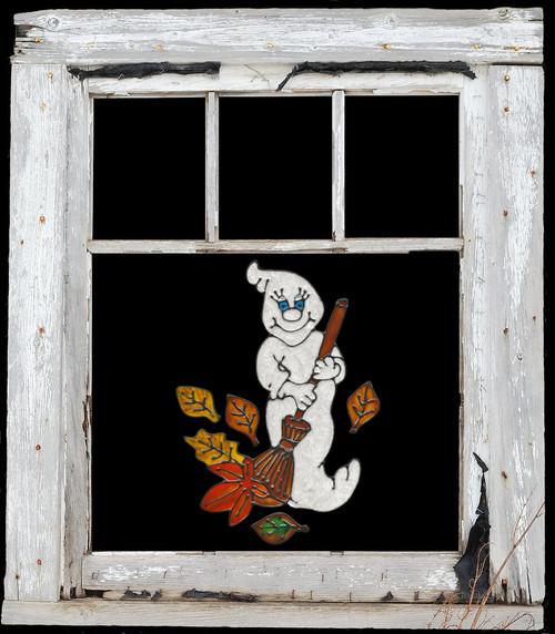 Autumn Ghost Window Cling Set