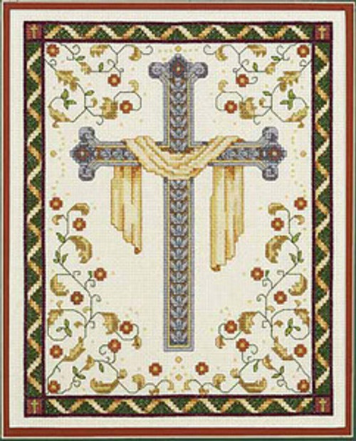 Janlynn Counted Cross Stitch Kit - His Cross