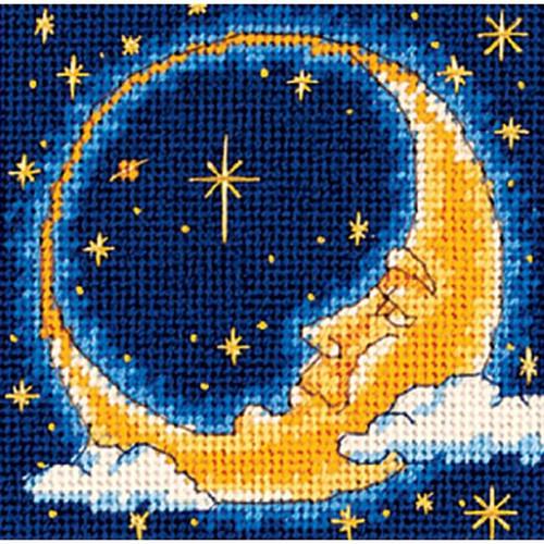 Dimensions Needlepoint Kit - Moon Dreamer