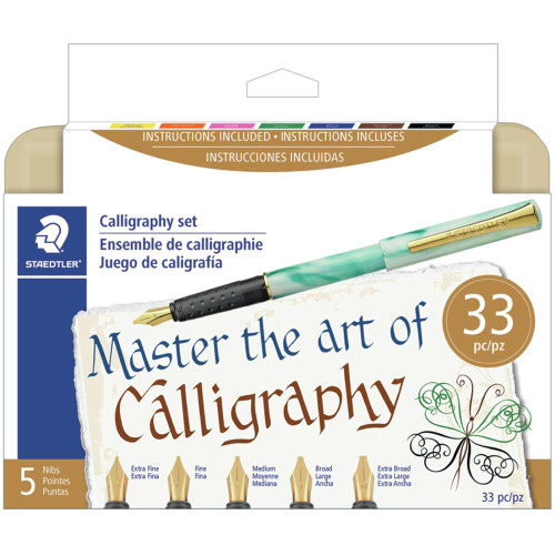 Staedtler Calligraphy 33pc. Pen Set