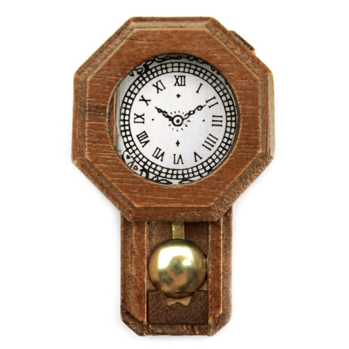 Timeless Miniatures - Pendulum Wall Clock