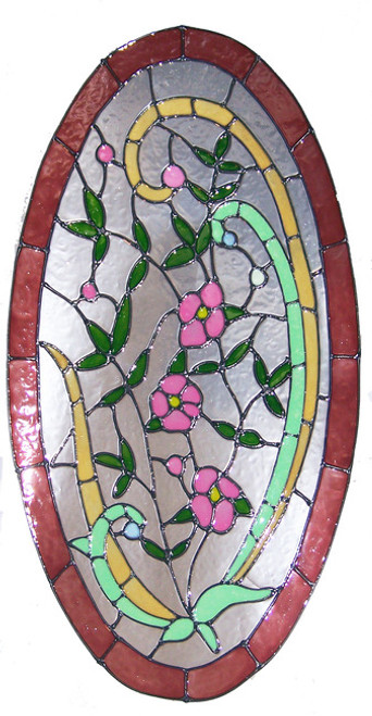 Victorian Oval Window Film