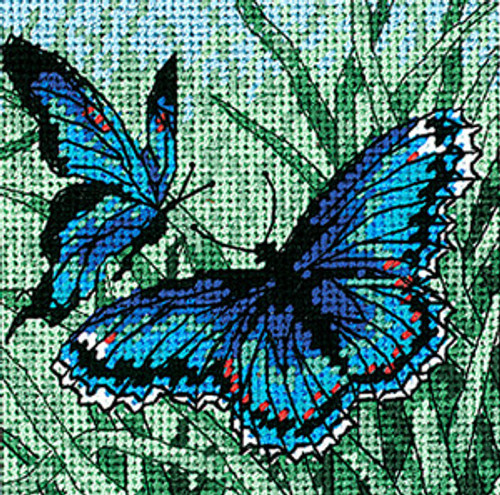 Dimensions Mini Needlepoint Kit - Butterfly Duo